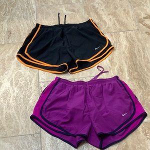 Nike tempo shorts size L large EUC 2 pairs